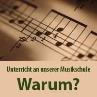 Warum Unterricht an der Musikschule des Landkreises Hof?
